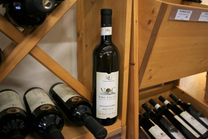 V nabídce vinotéky Dobrý ročník 33 najdete i vinařství Vinselekt Michlovský s prestižní řadou vín VOC Pálava